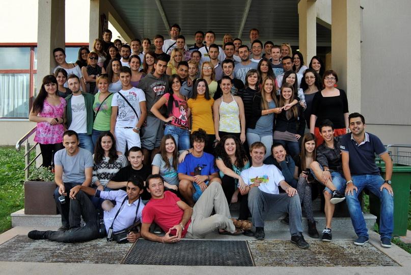 Извештај од првата регионална летна школа Јахорина, Босна и Херцеговина од 22ри до 28ми јули 2012