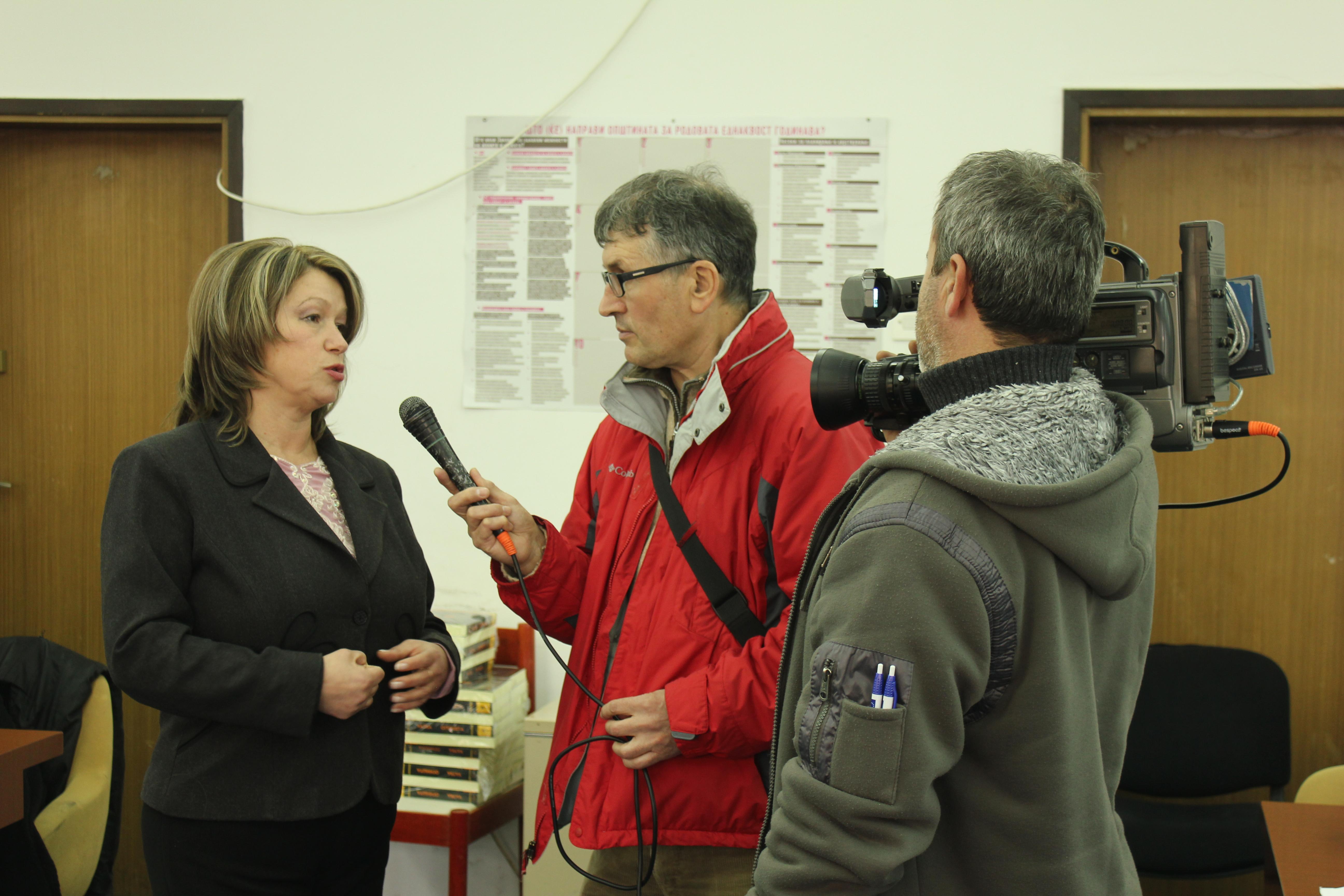 """Промоција на книгата """"Огништа / Vatra""""и дискусија во Куманово"""
