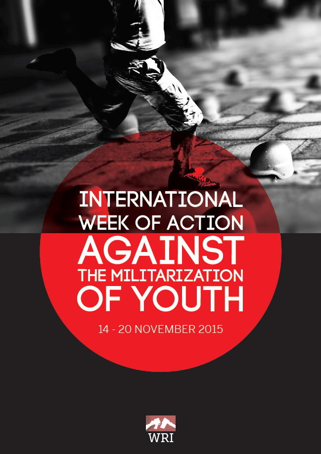 Week of action against militarization of youth 2015