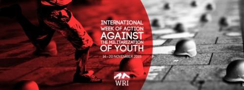 Меѓународна недела на акции против милитаризацијата на младите 14 - 20 ноември 2015