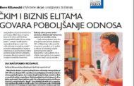 """Разговор со """"Данас"""" на Боро Китаноски I Bisedë me """"Danas"""" e Boro Kitanoskit"""